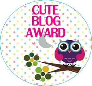 Highway to Hoeftland Receives Cute Blog Award.