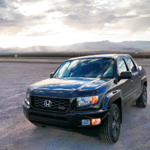 The Honda Ridgeline