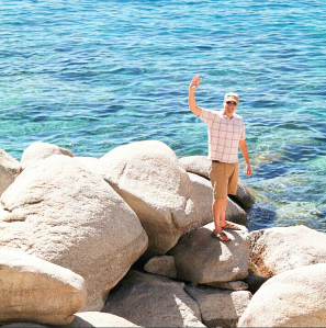Mike, waving to you from Lake Tahoe :)