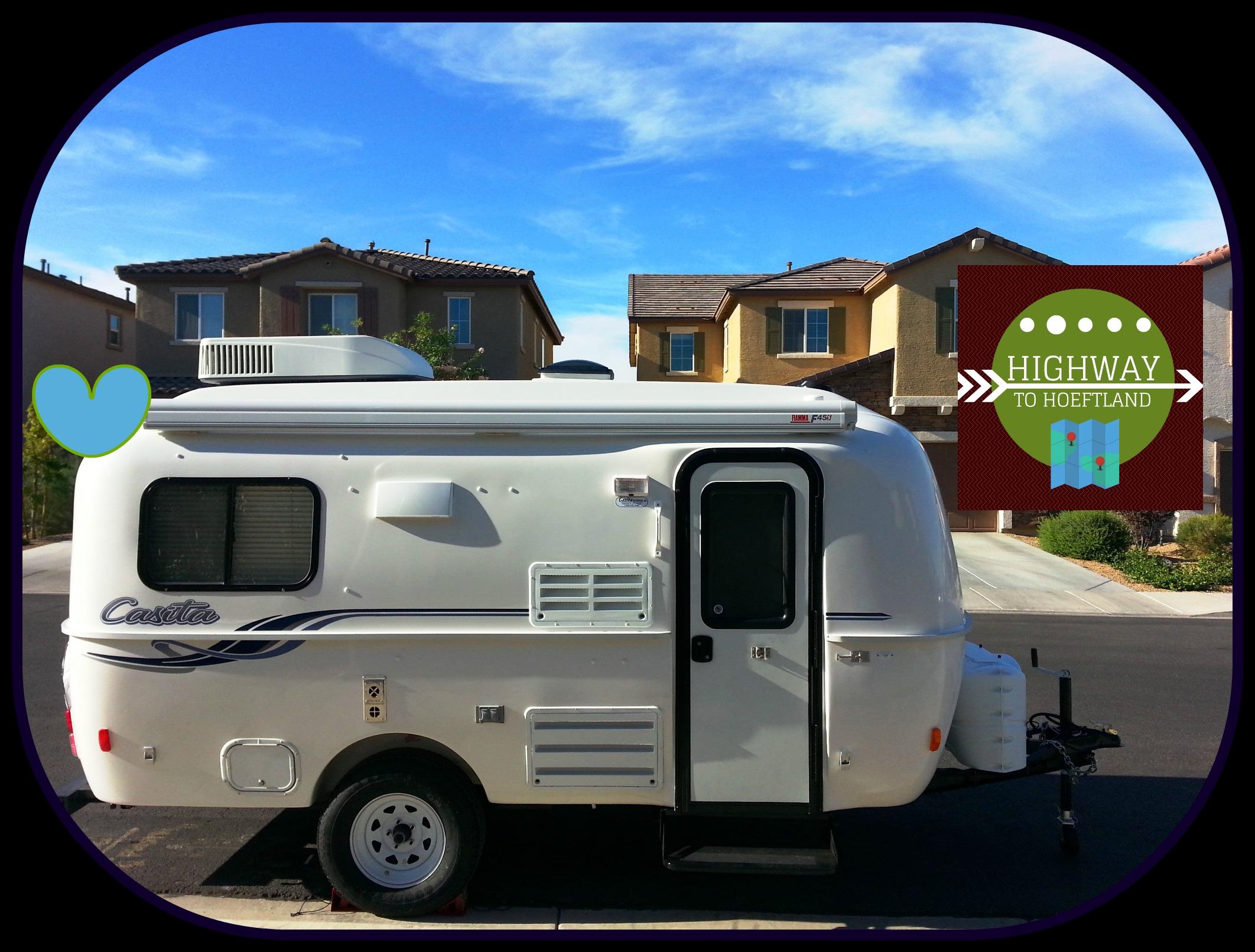 2015 Casita Travel Trailer Spirit Deluxe Model