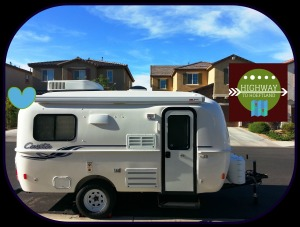 2015 Casita travel trailer, Spirit Deluxe model