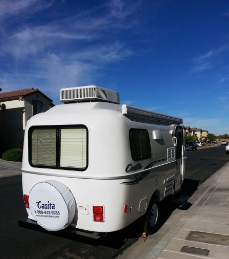 First Weekend With The Casita Travel Trailer Backing Up Fail