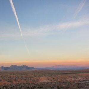 Nevada at Sunset