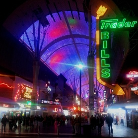 Fremont street exp.night