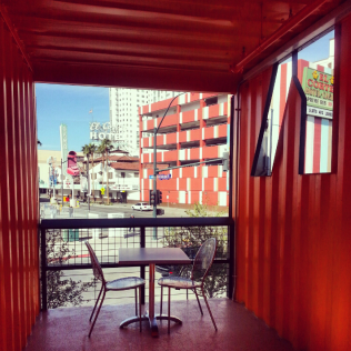 Inside the Container Park