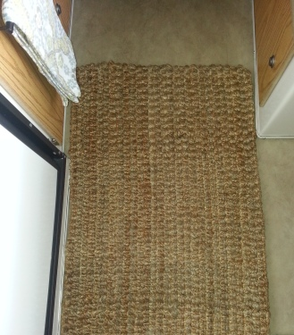 Jute rug from World Market.