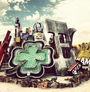 Neon signs at the Neon Museum