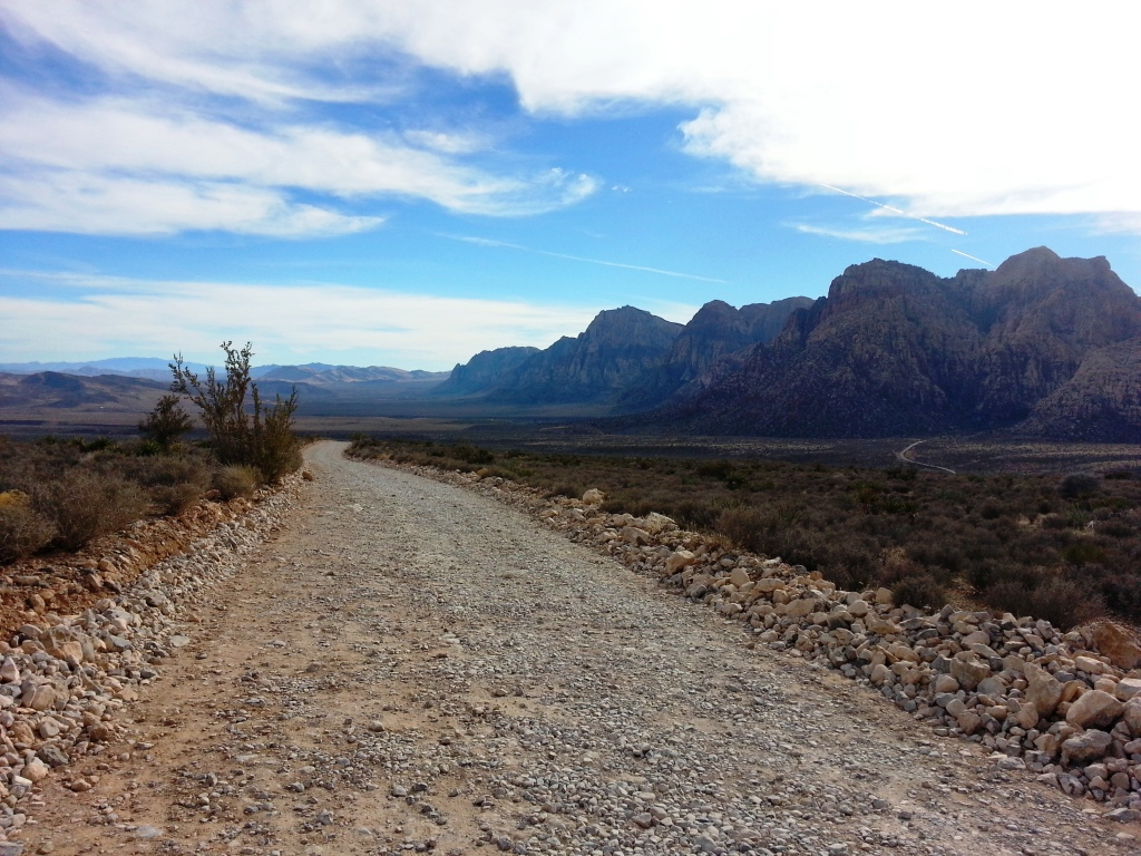 Red Rock Canyon Mts and Trail -