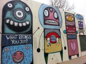 A mural in Boulder.