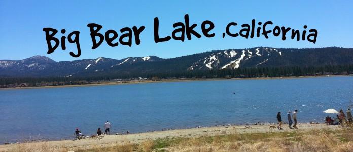 Travel Trailer Camping at Serrano Campground, Big Bear Lake