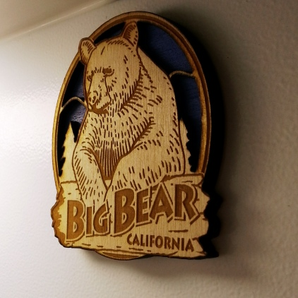 Big Bear Lake Magnet