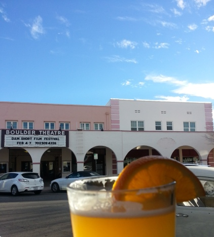 Drinking Beer in Boulder City