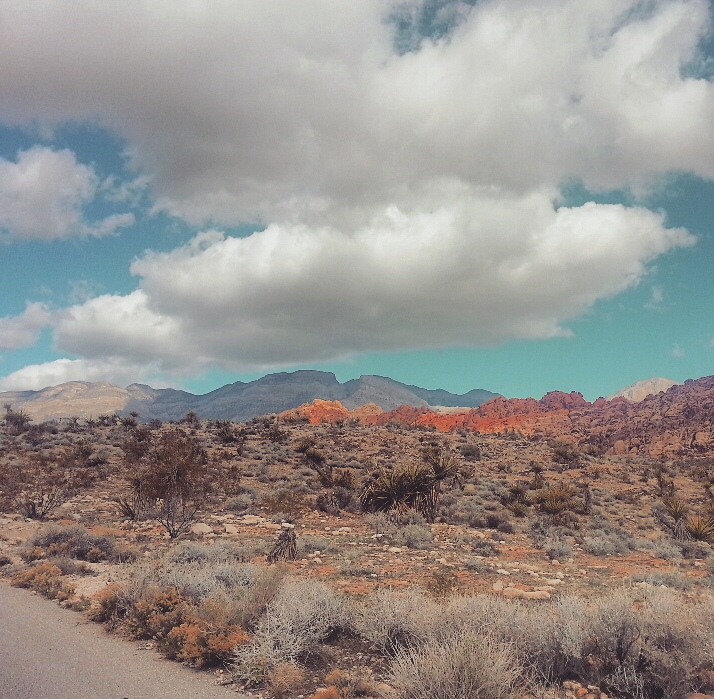 1st Time Solo Hiking Red Rock's Moenkopi Trail & Accidentally Beyond! (NV) (5/6)