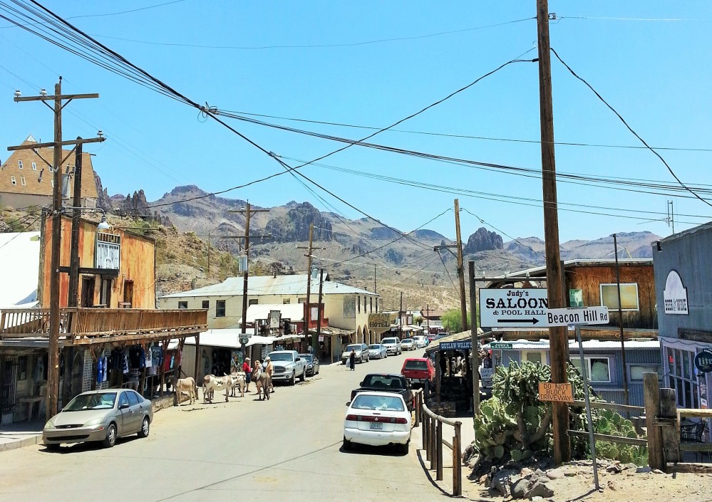 Old Western Charm and Burros Galore in Oatman, Arizona (1/6)