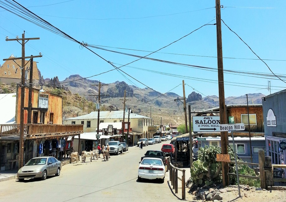 Town of Oatman AZ (2)