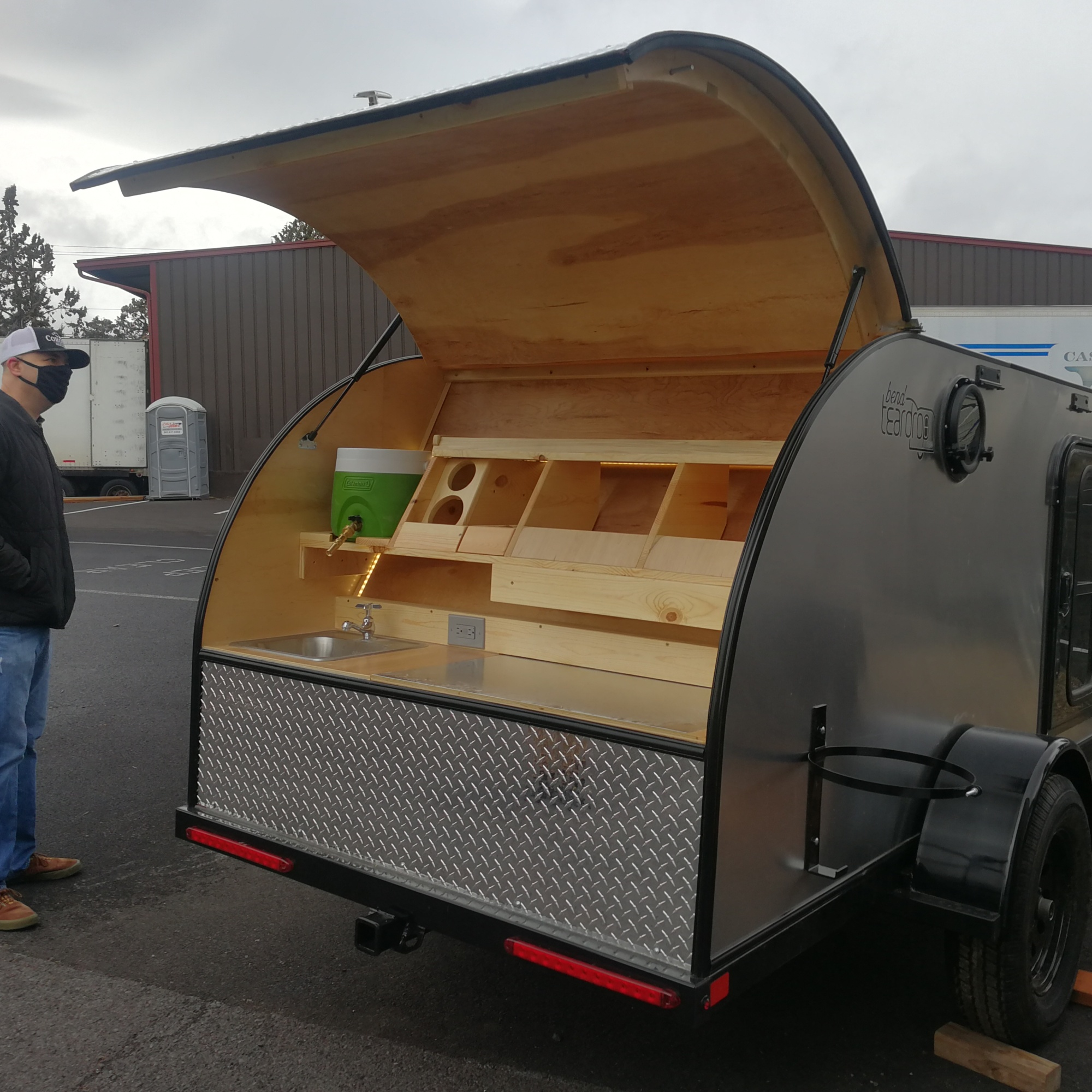 Bend Teardrop Trailer
